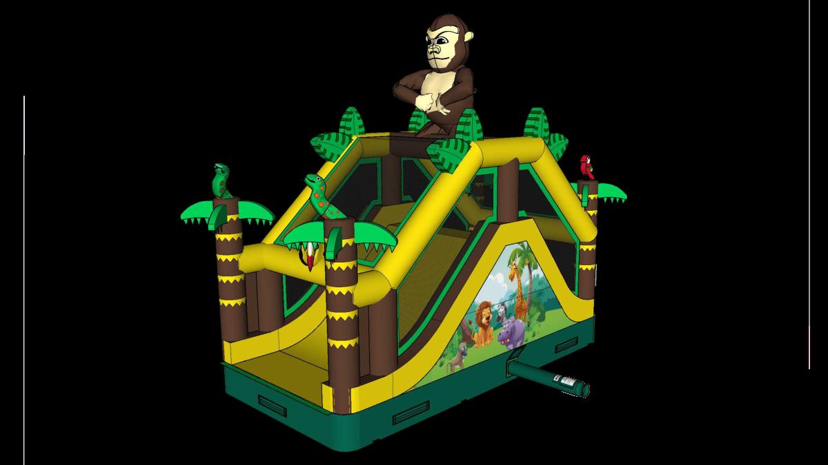 Jungle 16 glijbaan L