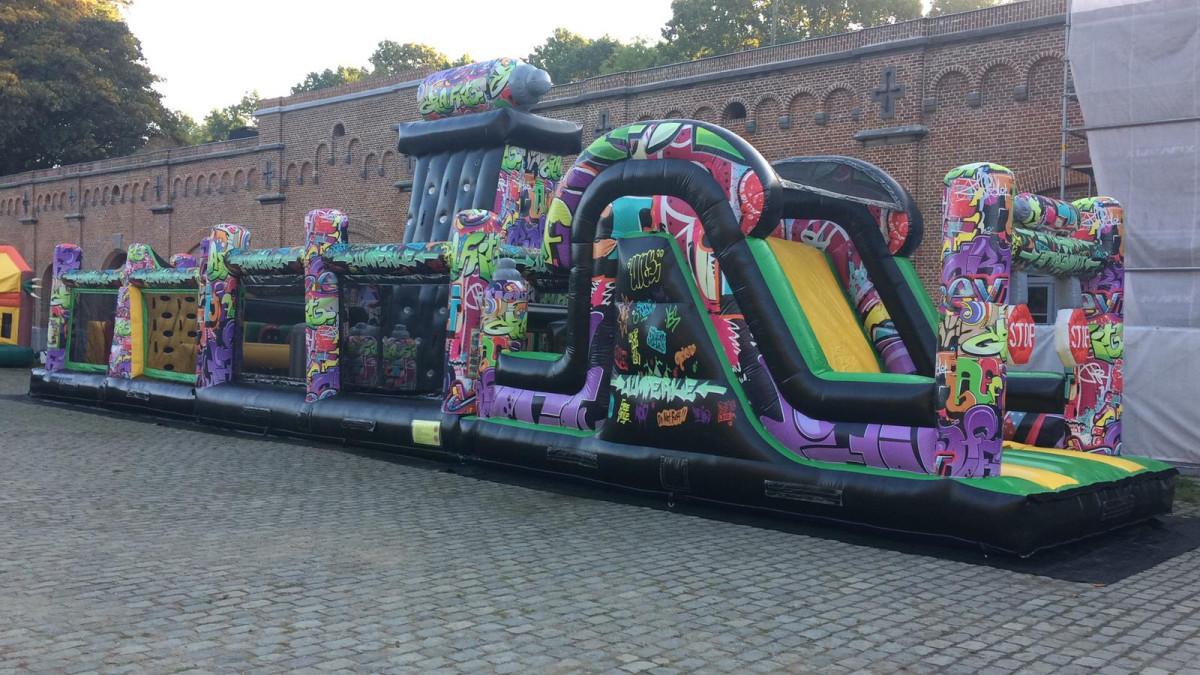 Graffiti run 21m
